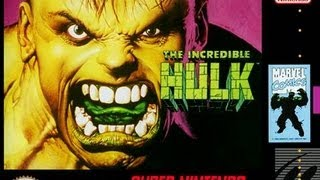 The Incredible Hulk (Super Nintendo)