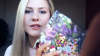 Sweet Cute and Sticky 💟 ASMR | Whisper | Stickers | Crinkles thumbnail