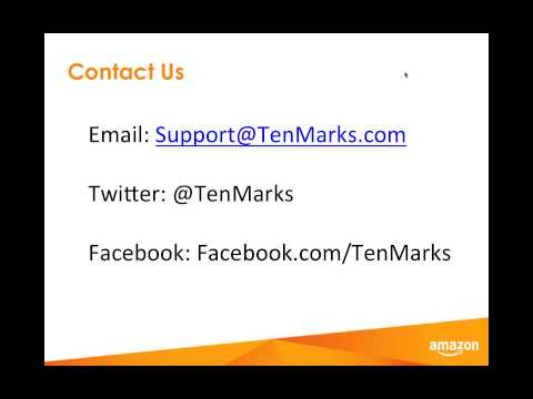 Engage and Motivate Students with TenMarks