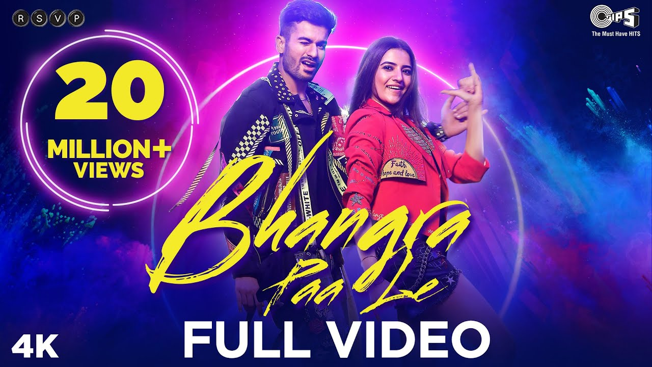 Bhangra Paa Le Official Song - Bhangra Paa Le | Sunny Kaushal, Rukshar Dhillon | Shubham-Jam8, Mandy #1