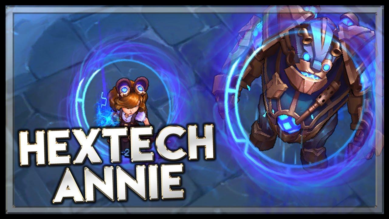 Hextech Annie Skin Spotlight League Of Legends YouTube