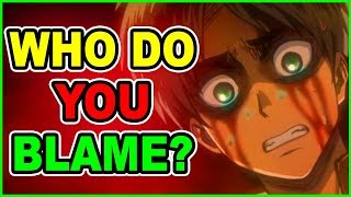 MAJOR DEATH! Do YOU Blame EREN Jaeger? Moving Forward! Attack on Titan Manga Chapter 105