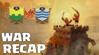 WAR RECAP: TH8|TH9: Invencíveis BR vs Victory on Clan - Clash of Clans
