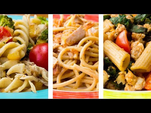 3 Healthy Pasta Recipes For Weight Loss | Easy Pasta Recipes