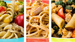 3 Healthy Pasta Recipes For Weight Loss   Easy Pasta Recipes