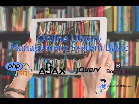 Online Library Management System Basic with PHP and MySQL