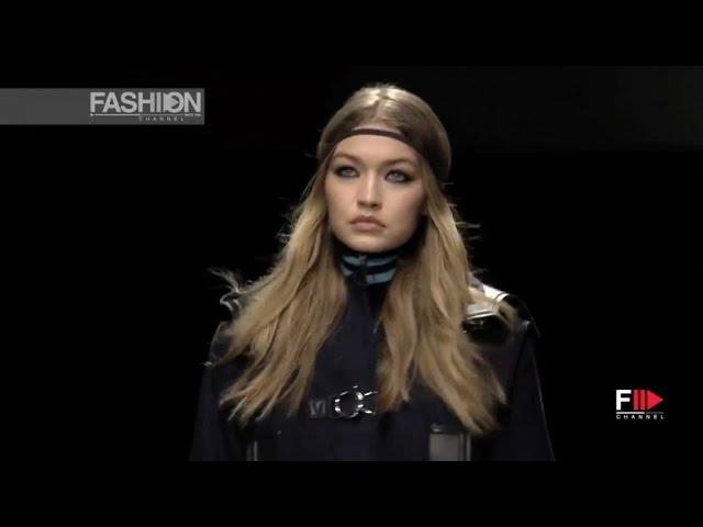 Versace Full Show Fall 2016 Milan Fashion Week By Fashion Channel