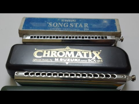 Learn Harmonica - Basic Exercise and Playing on Beat