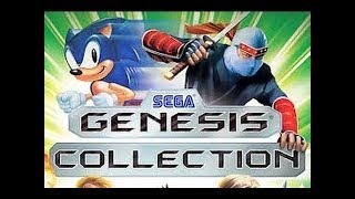 Sega Genesis Collection   Playstation 2 'gameplay""