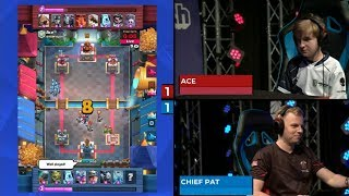 CHIEF PAT VS ACE | Clash Royale Super Magical Open Play 2018