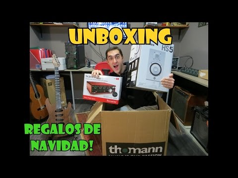 Regalos de Navidad Unboxing! Regalos Musicales de Thomann!
