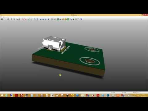 kicad StepUp tool: 3D Step and VRML File Alignment to footprint
