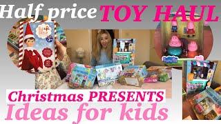 Half Price Toys Entertainer Haul B&m Tesco Haul Christmas Toys Haul Shocking Haul 😱