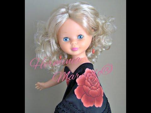 Vestidos de Flamenca para la muñeca Nancy Vol. 1 - YouTube