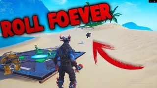 How to ROLL FOREVER with this new Fortnite glitch (Season 8)
