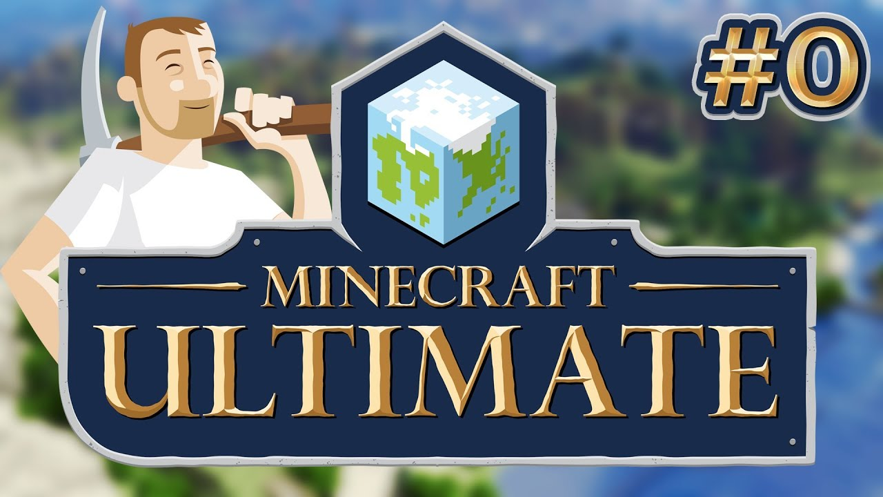 Minecraft Ultimate: Ep 0 - Pilot - Welcome to my modded LP! I'm playing on the LexPack modpack