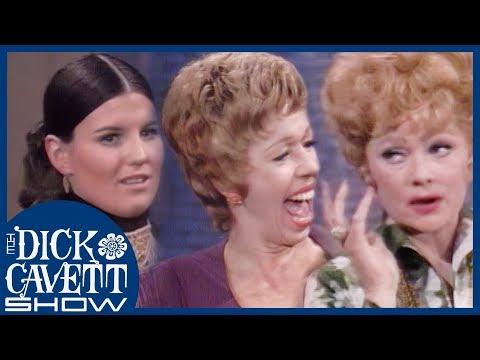 Lucille Ball, Carol Burnett And Lucie Arnaz On What Women Want! | The Dick Cavett Show