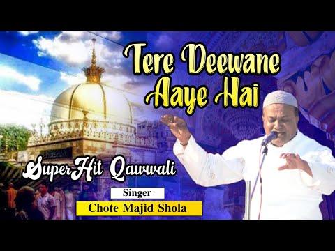 TERE DEEWANE HAI ||New Version Qawwali Haji Chote Majid Shola 28-08-18