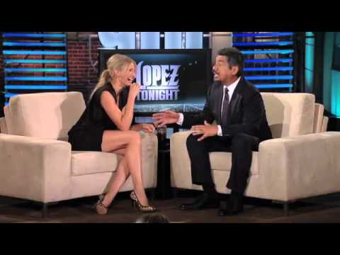 Cameron Diaz on Lopez tonight part 1 1/20/11