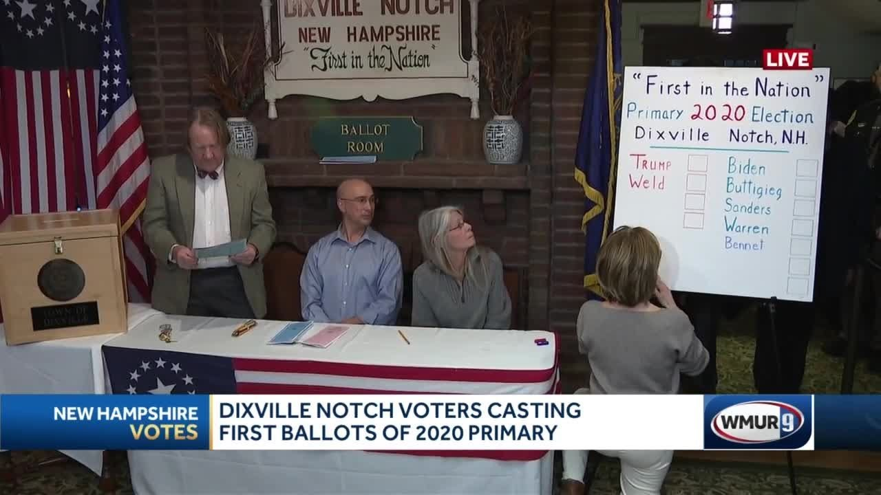 As quirky as ever, Dixville Notch goes for Bloomberg