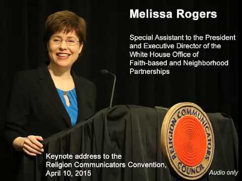 Melissa Rogers: Keynote address at RCC 2015