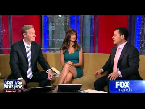 Carol Alt hot legs cross  Fox & Friends  062413