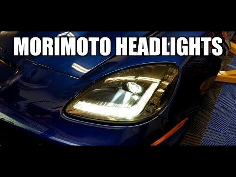 2005 Chevy Corvette - Upgrades 3.0 - Pt 33 - Morimoto XB LED Headlights Install