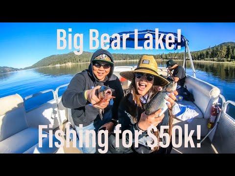 Big Bear Lake Fishing For 50k