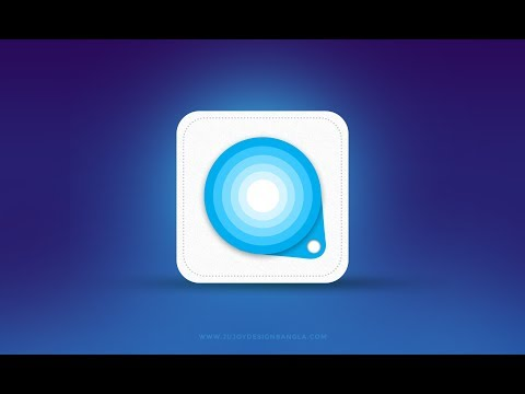 App icon | How to make apps icon in Photoshop tutorial for beginners