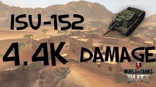 world of tanks blitz isu 152 4 4k damage