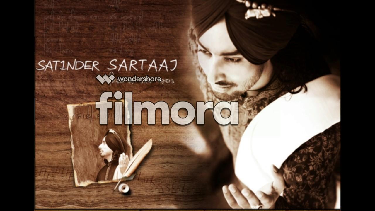 Satinder Sartaj Dard Gareeban Da Lyrics