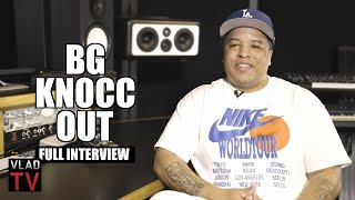 BG Knocc Out on DMX, Eazy-E, Suge Knight, Nate Dogg, YG, Crunchy Black, King Von (Full Interview)
