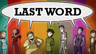 Last Word - An Excuse For Name Puns, Manly Game Preview