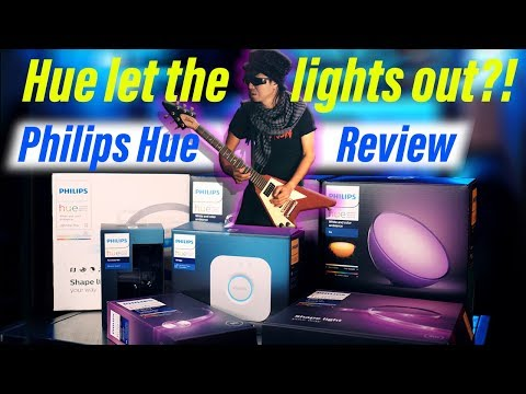 Hue Let the Lights Out?! Philips Hue Light Review