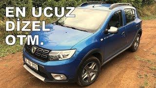 En ucuz dizel otm | Dacia Sandero Stepway test sürüşü (2017)