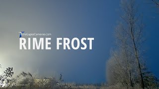 Rime Frost and Astro Afidus Time Lapse