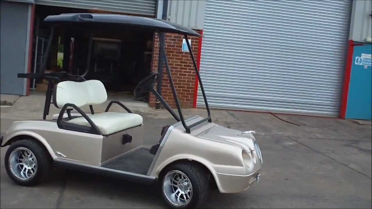 Jaguar S Type Style Golf Cart