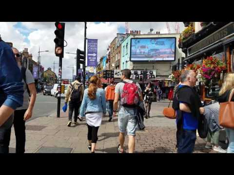 Walking Around Camden Lock in London England My Old Stomping Grounds