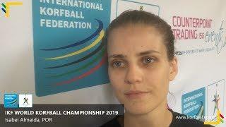 Interview: Isabel Almeida, POR #WKC2019