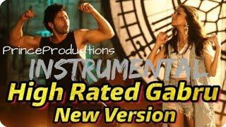 High Rated Gabru Instrumental | Varun Dhawan and Shraddha Kapoor | Karaoke |