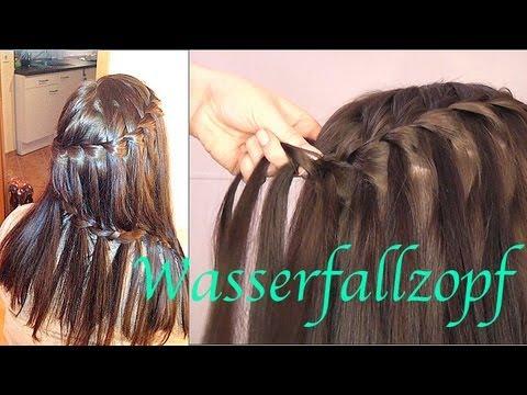 Wasserfall Zopf Romantische Frisur Tutorial Youtube