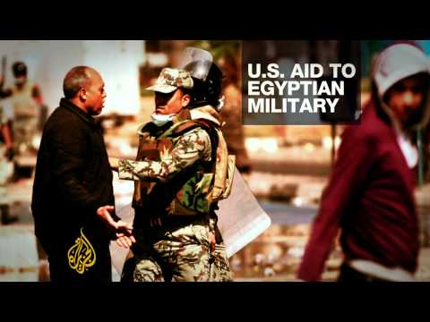 US military aid to Egypt is under scrutiny