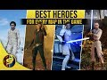 What are the BEST HEROES for each map? - STAR WARS Battlefront 2