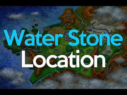 Pokemon X And Y Where To Get A Water Stone (2 Stones)
