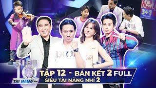 Siêu Tài Năng Nhí Mùa 2 - Tập Bán Kết 2 Full HD