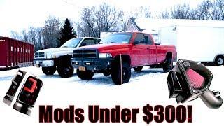 2nd Gen Dodge Cummins MODS UNDER $300