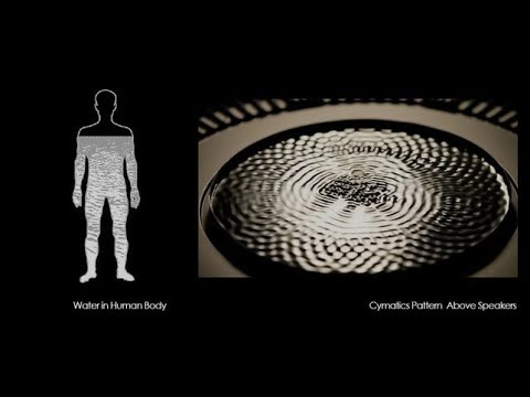 LIVING WATERS: Sound Frequencies & CYMATICS