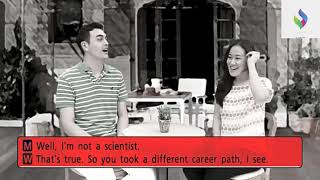 learn English conversation   University 01