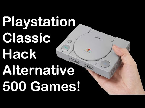 Playstation Classic Hacking Alternative - 500 Games!