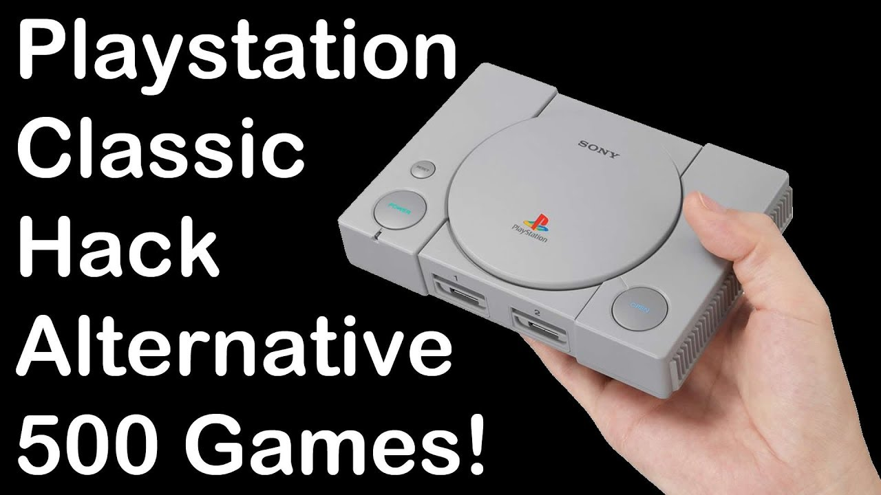 Playstation Classic Hacking Alternative - 500 Games! by DrewTalks